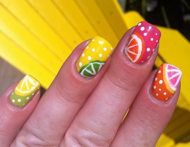 Nail art ideas and tips for summer 2014 - www.fashioncorner.net