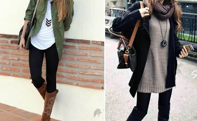 Fashion rules for wearing leggings