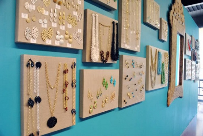 16 cool ways to organize your jewelry