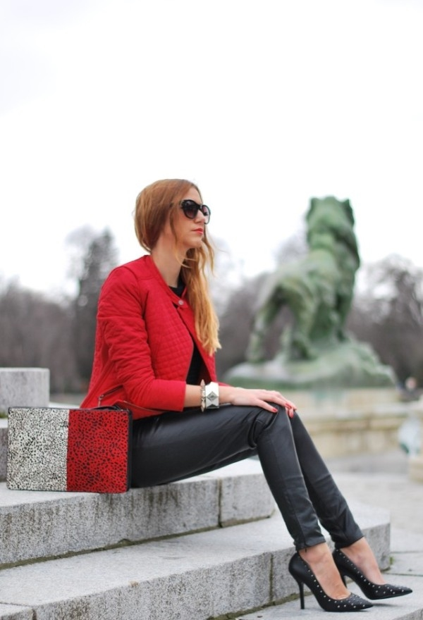 (11) How to combine leather pants for any occasion-fashioncornernet