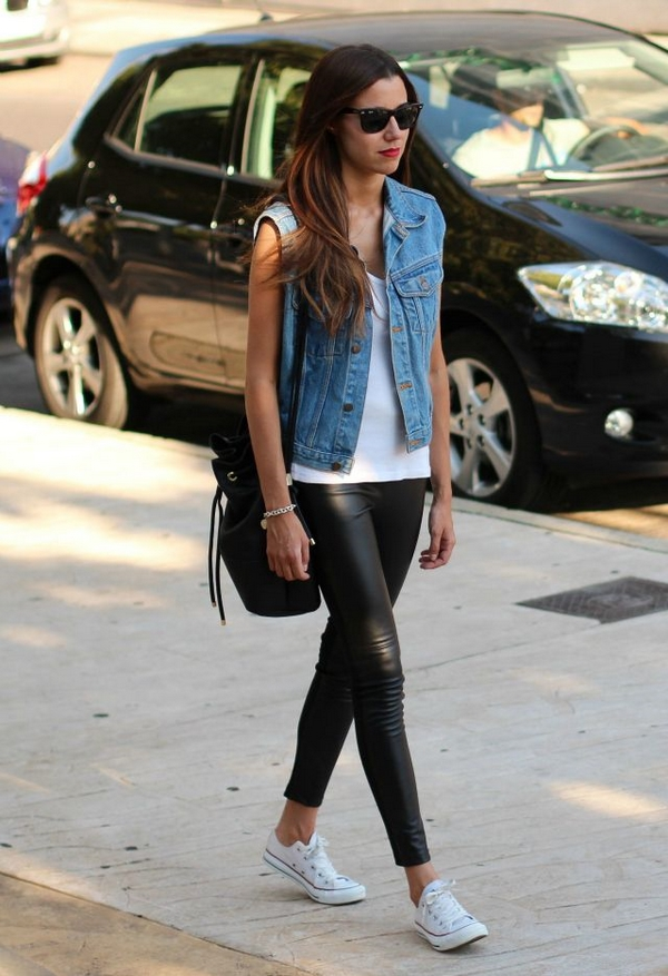 (23) How to combine leather pants for any occasion-fashioncornernet