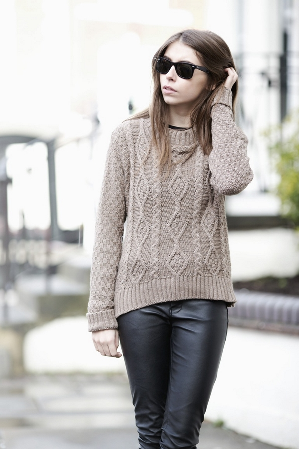(24) How to combine leather pants for any occasion-fashioncornernet