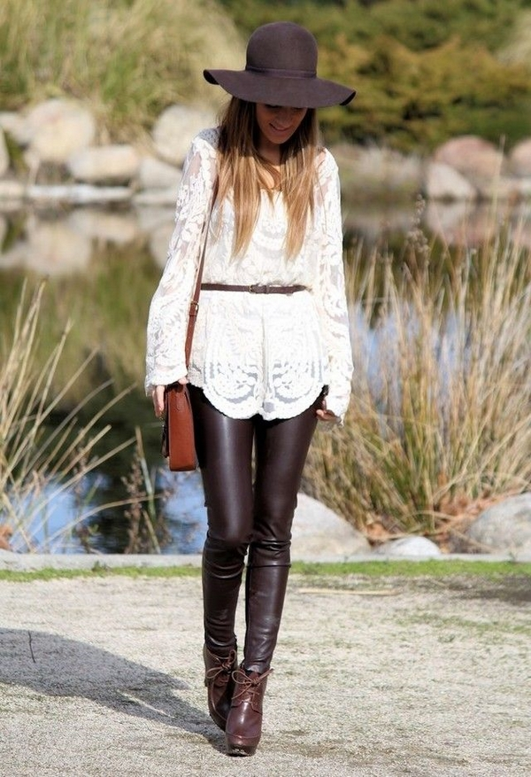 (25) How to combine leather pants for any occasion-fashioncornernet