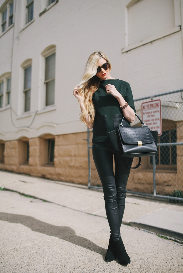 (35) How to combine leather pants for any occasion-fashioncornernet