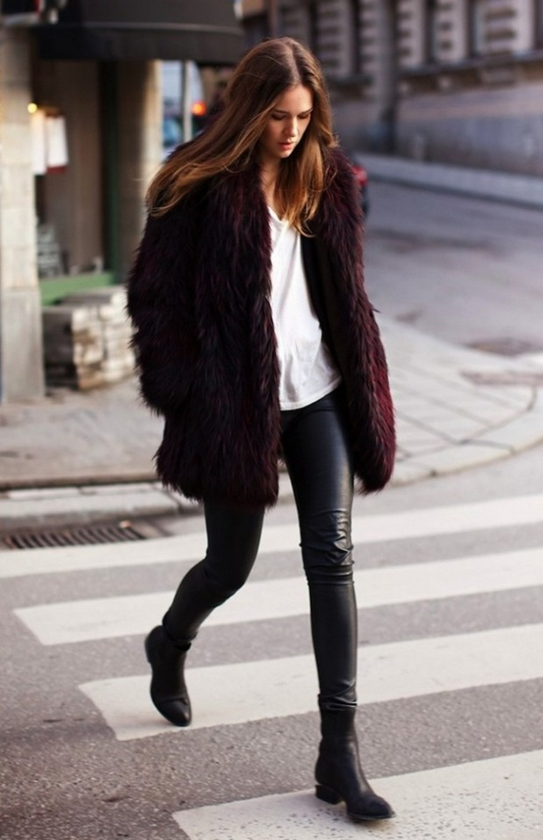 (36) How to combine leather pants for any occasion-fashioncornernet