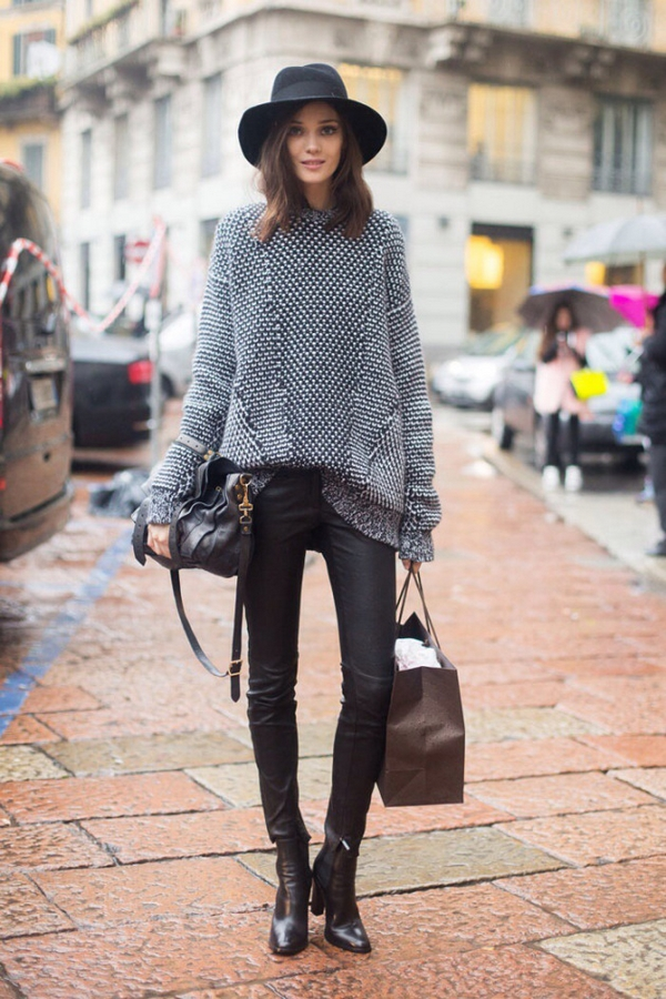 (37) How to combine leather pants for any occasion-fashioncornernet