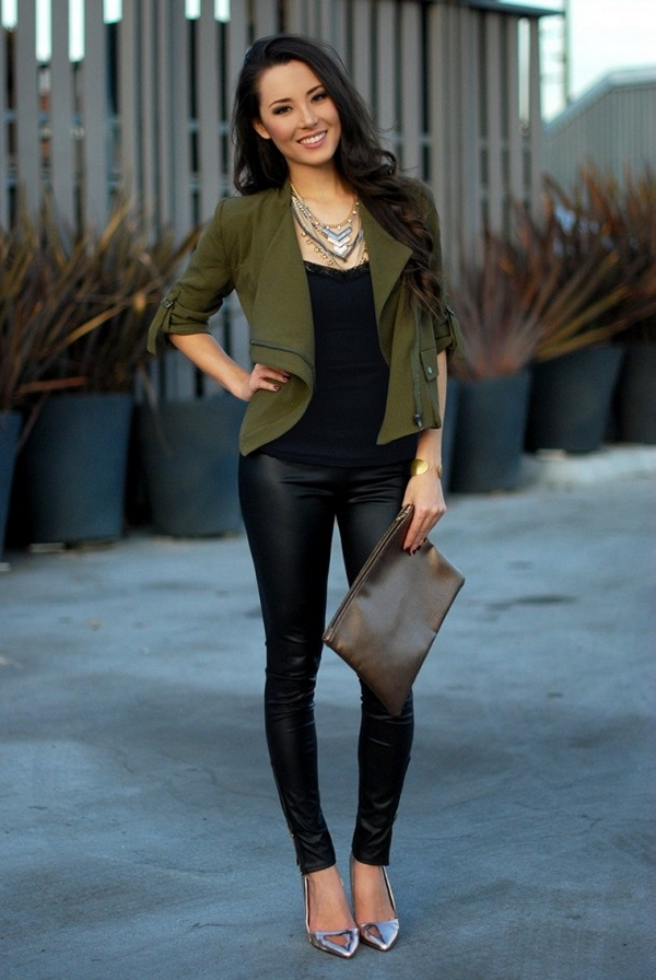 (51) How to combine leather pants for any occasion-fashioncornernet