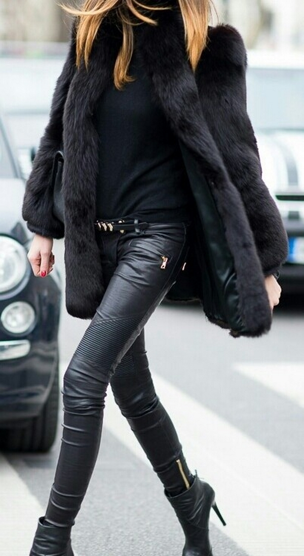 (53) How to combine leather pants for any occasion-fashioncornernet
