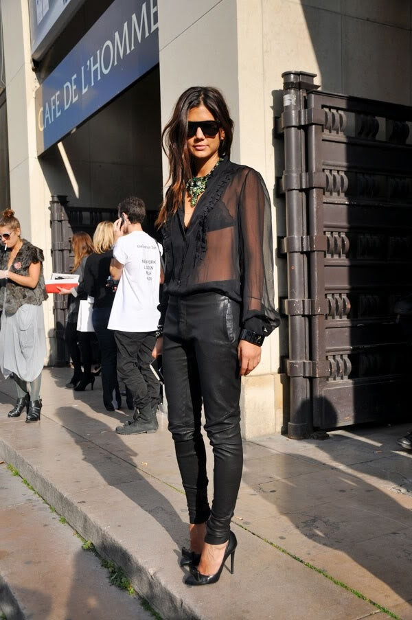 (54) How to combine leather pants for any occasion-fashioncornernet
