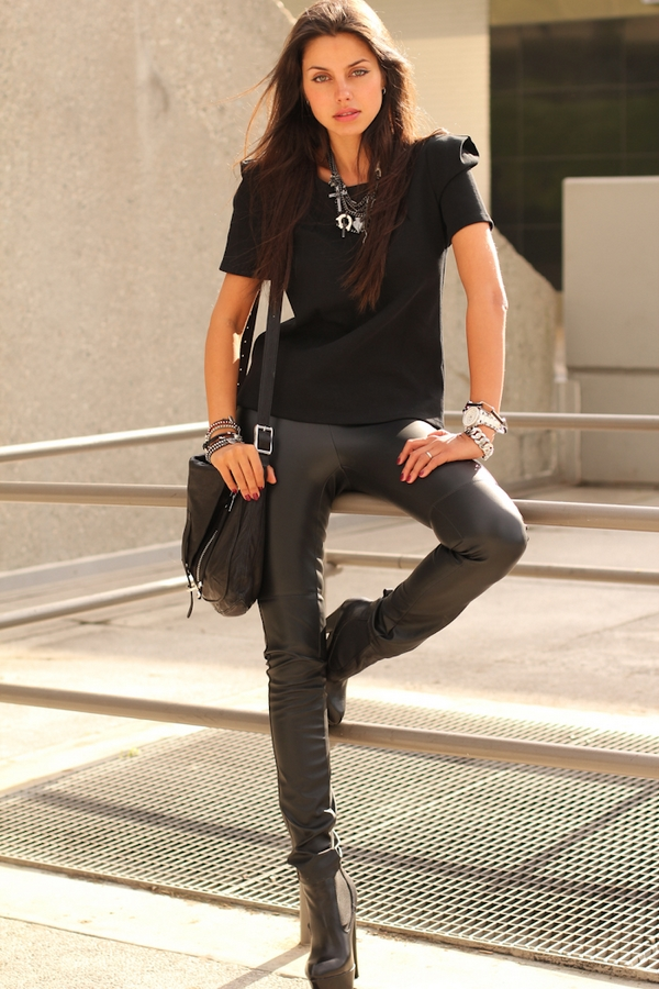 (56) How to combine leather pants for any occasion-fashioncornernet