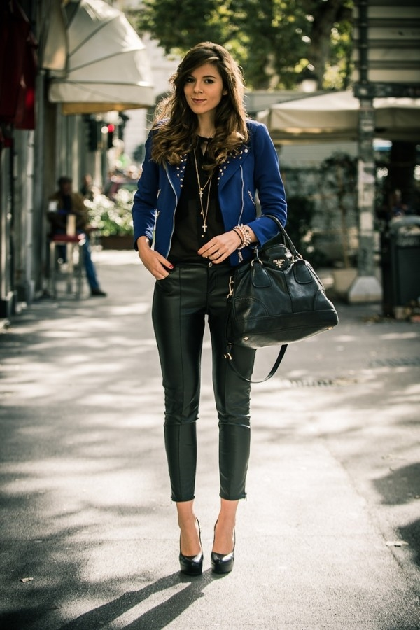 How to combine leather pants for any occasion? – Fashion ...