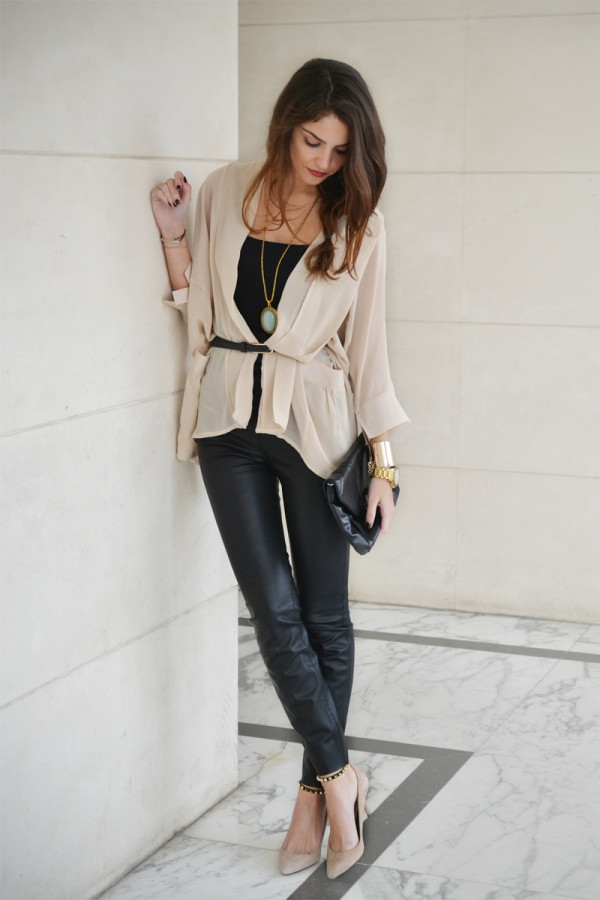 (7) How to combine leather pants for any occasion-fashioncornernet