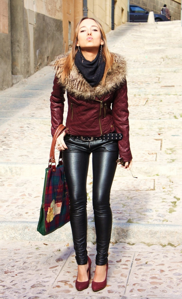 (8) How to combine leather pants for any occasion-fashioncornernet
