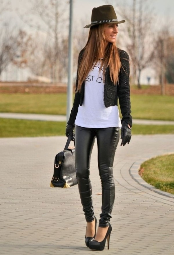(9) How to combine leather pants for any occasion-fashioncornernet