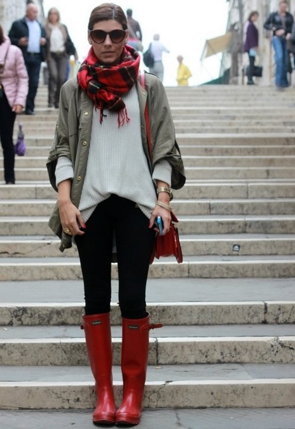 13 20 Amazing Street Style Winter Combinations For Your