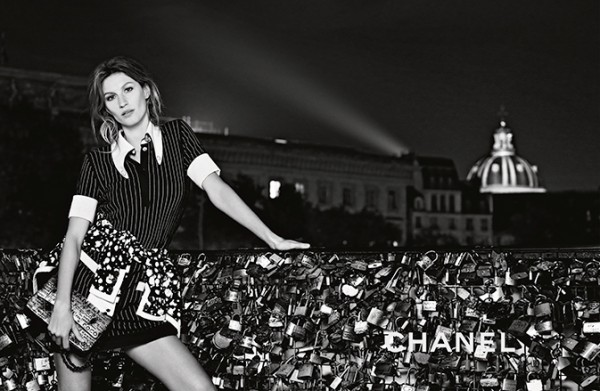 Gisele Bundchen in the new spring/summer Chanel campaign