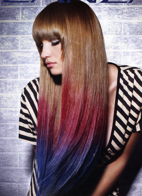 How to dye you hair with hair chalk in 5 steps?