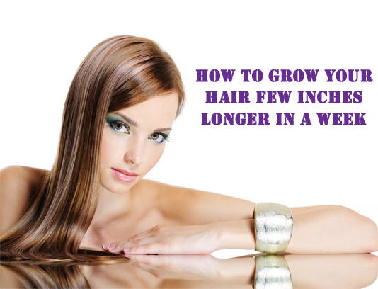 How To Grow Hair In A Week Home Remedies