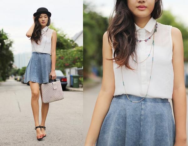 Fashion trend for this spring: Denim skirts – Fashion Corner