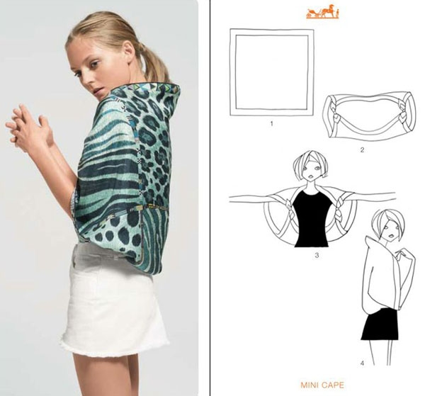 How to repurpose a scarf?