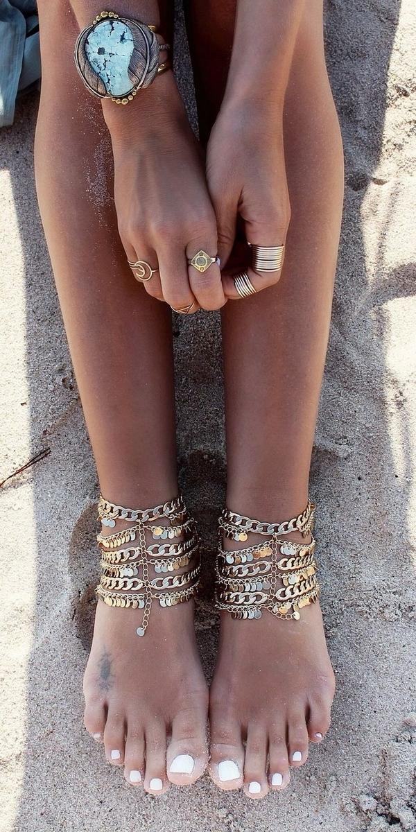 (1) Boho anklets the perfect accessory for your summer style