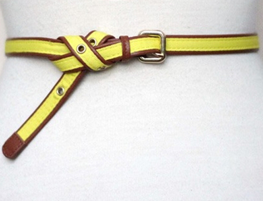 Cool ways to knot a belt