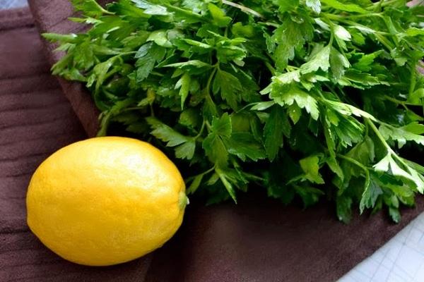 Miracle parsley juice