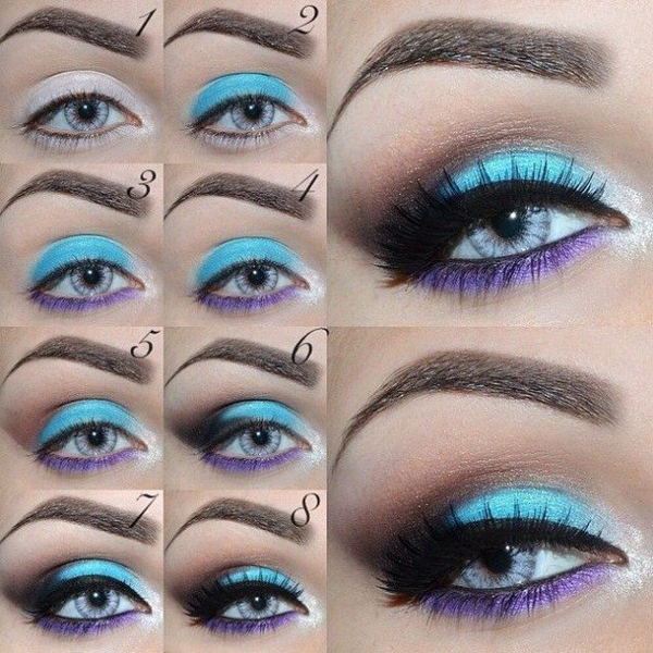 summer eyeshadow tutorials