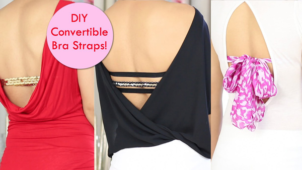 DIY Bra for Backless Top