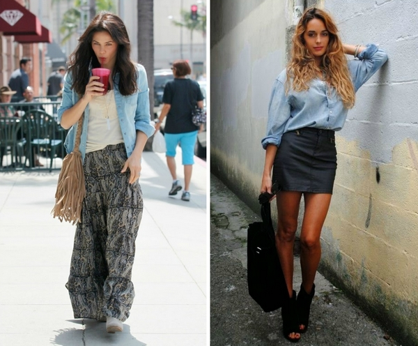 (18) How To Combine Your Denim Shirt – www.fashincorner ...