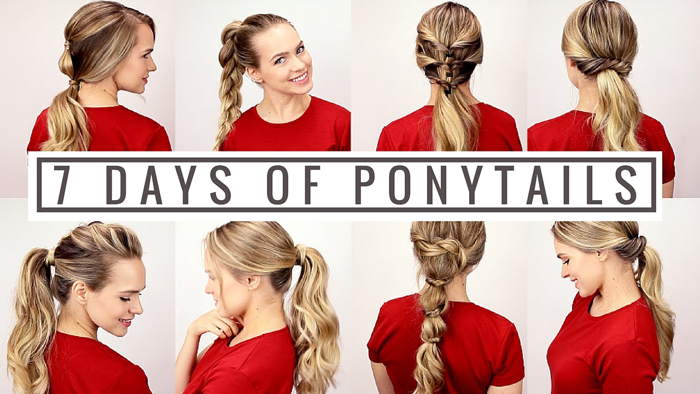 Ponytail for every day of the week