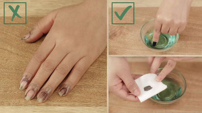 How To Quickly Remove Dark Nail Polish Without Leaving Stains