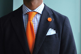 Why Men Should Have Some Bright Colors In Their Office Clothes