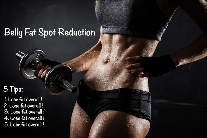 Female fitness spot reduction not possible