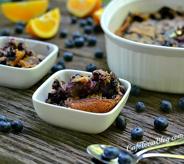 Summer Recipe: Blueberry Orange Cobbler