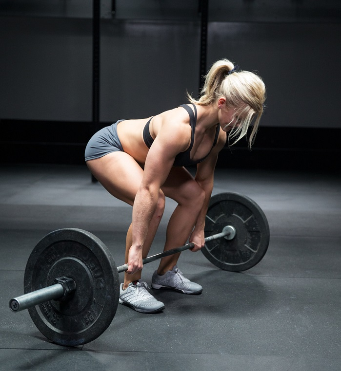 female fitness workouts deadlift