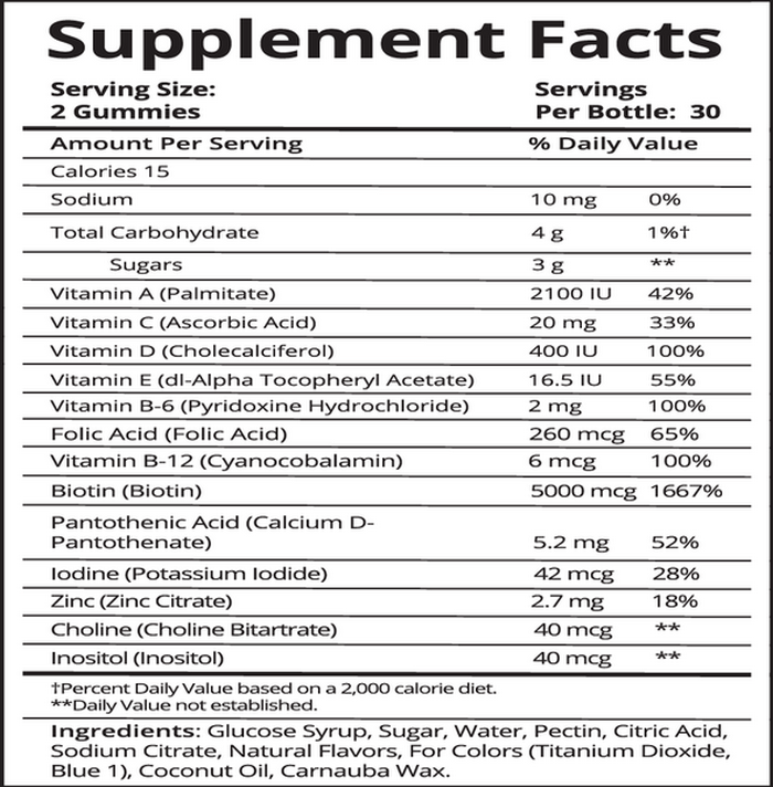 Sugar Bear Hair Vitamins Review (0)