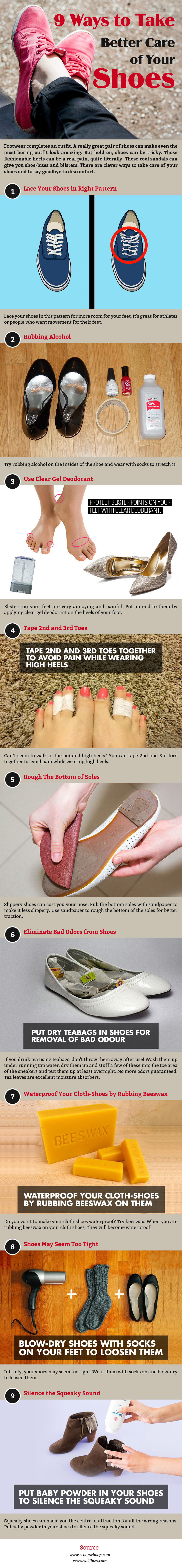 9 Ways To Take Better Care Of Your Shoes – Fashion Corner