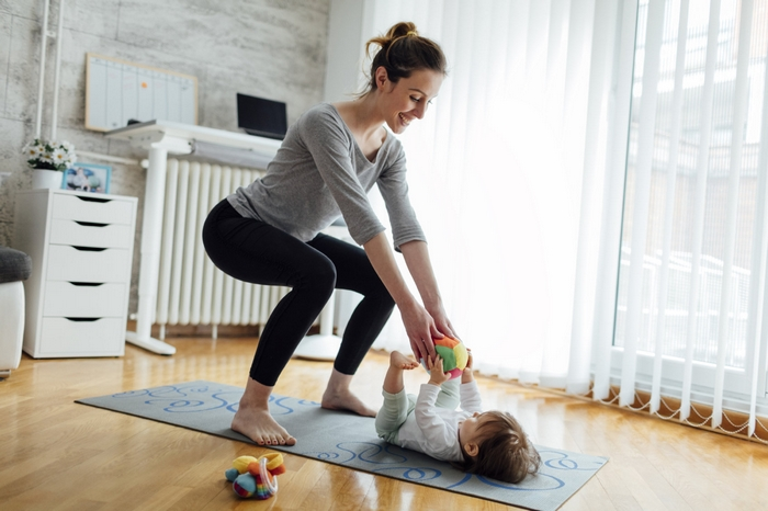 10 Exercises for Moms and Babies