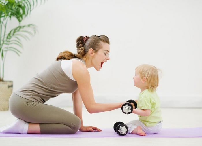 full-time working mom exercise