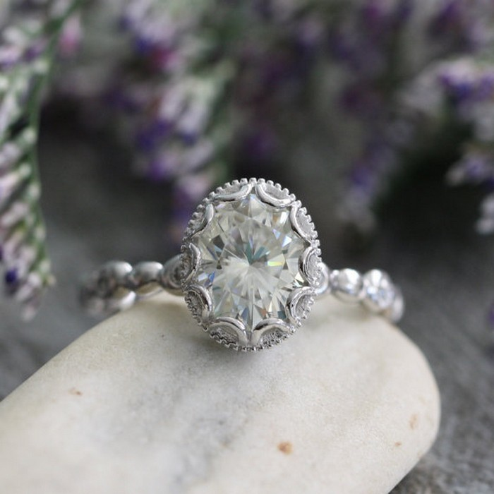 Things you Should Know Before Buying Moissanite Engagement ...