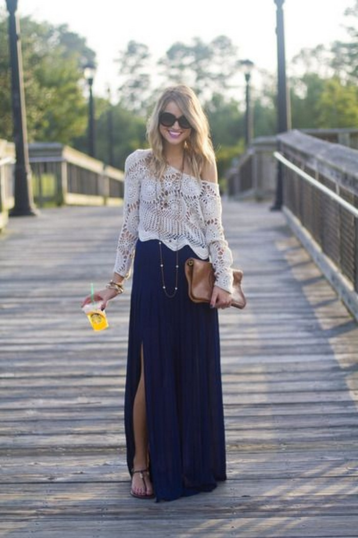 25 boho chic fashion styles to try out in spring summer 2018 fashion corner Bohemian fashion style pinterest